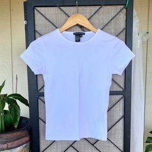 Ralph Lauren Slim Fit White T Shirt Small